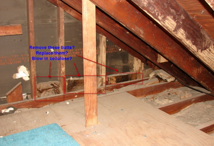 Help with complicated insulation project in attic insulation diy do i need to rent the machine for blowing in cellulose or can it be spread by handrake solutioingenieria Image collections