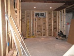 Finishing basement in my house-  in drywall process