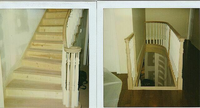 Flaired Stairs