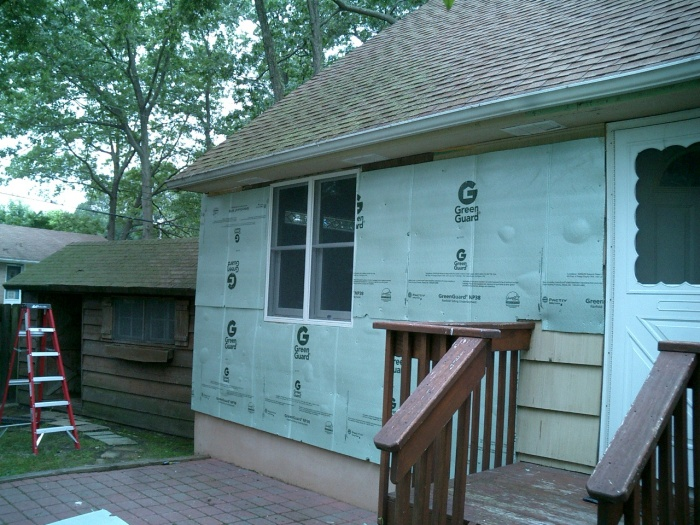 Front of the house...  
