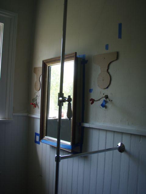 hall bath light sconces
