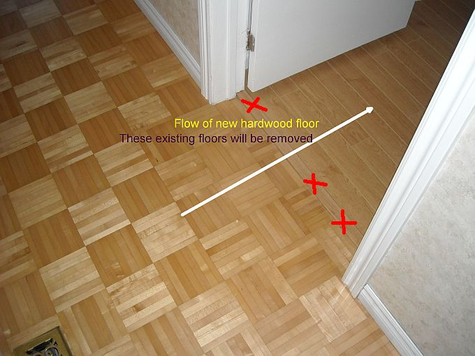 Transition From Hallway To Bedroom