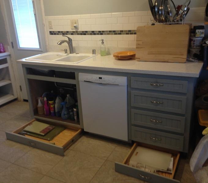 "Diy Frameless Cabinet: I'm Using 3"" X 4"" Toe Kicks On My Frameless Cabinets"