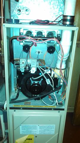amana air command 90 furnace not igniting hvac diy chatroom here s the overall of the upper cabinet