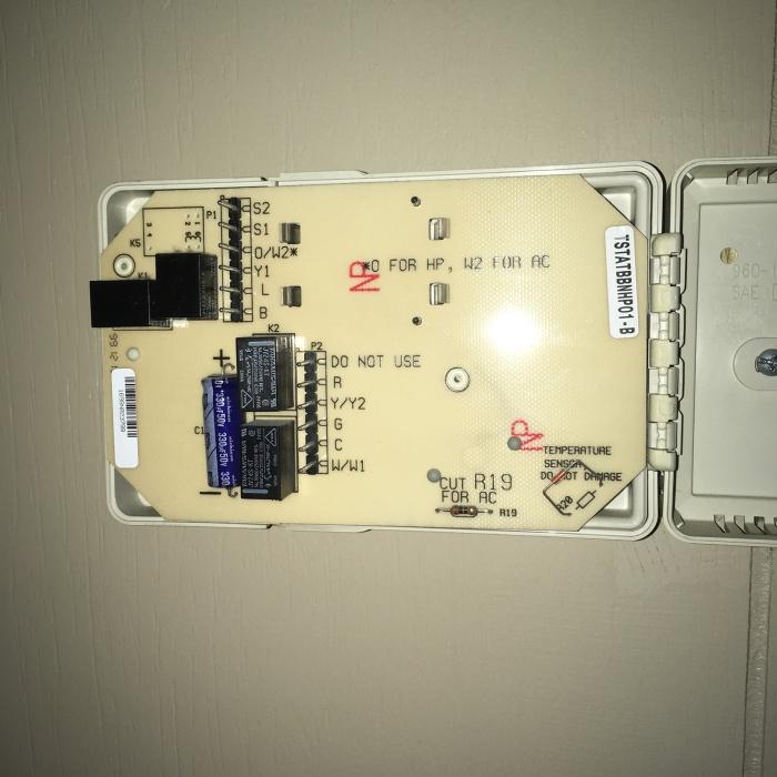 Bryant Thermostat Mystery - Hvac