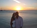 Kim and I in Aruba