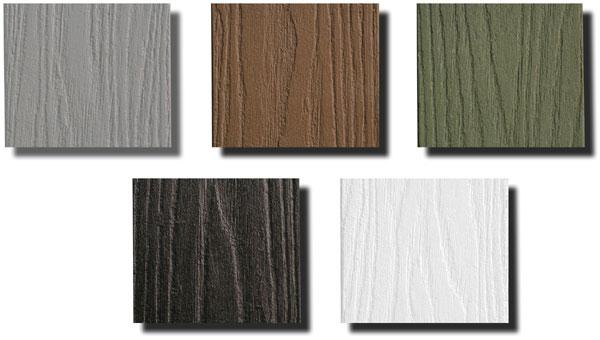LifeTime Lumber Colors