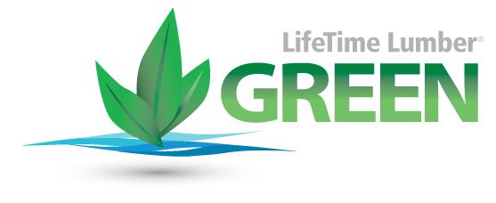 LifeTime Lumber is Green