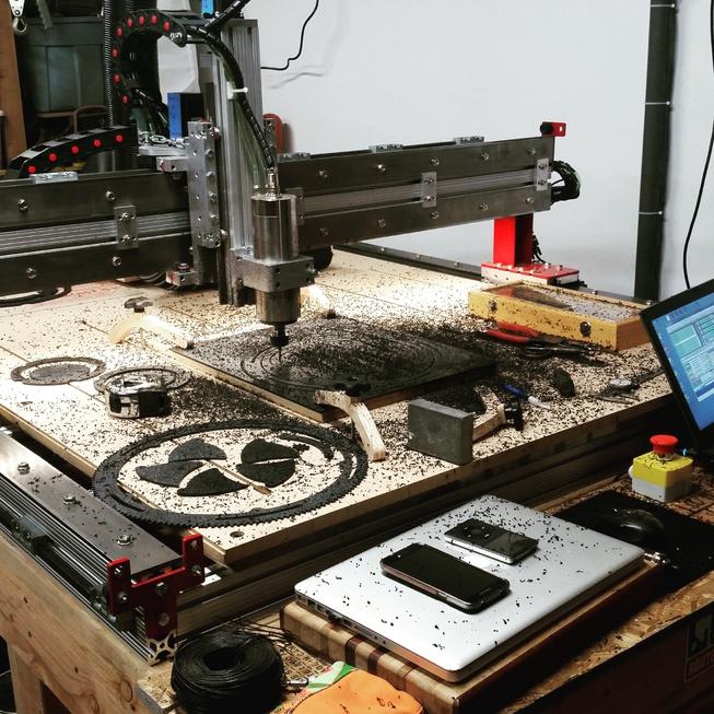 Machining the mechanical iris
