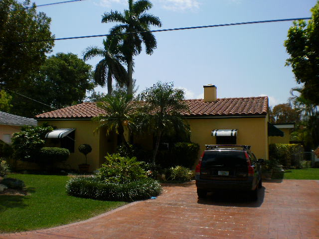 Miami roofing project, Hanson concrete tile roof
