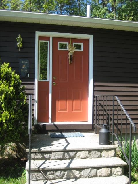 New front door needs a change of color