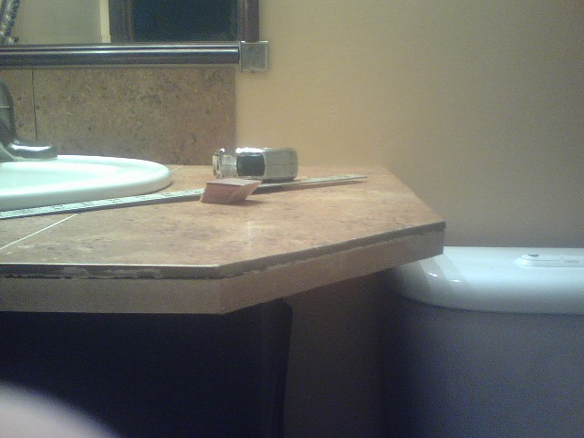 New vanity top I made
