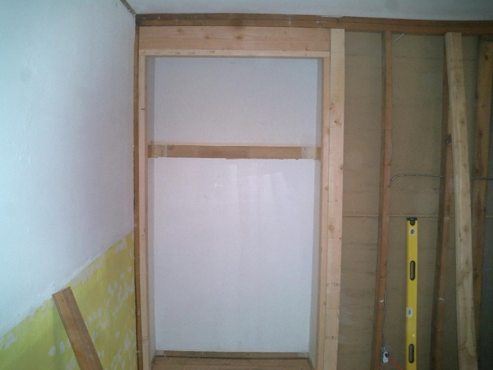 Nook -- ready for serving cabinet