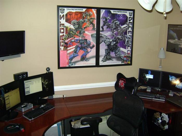 Office Setup   Total Desk (Large)