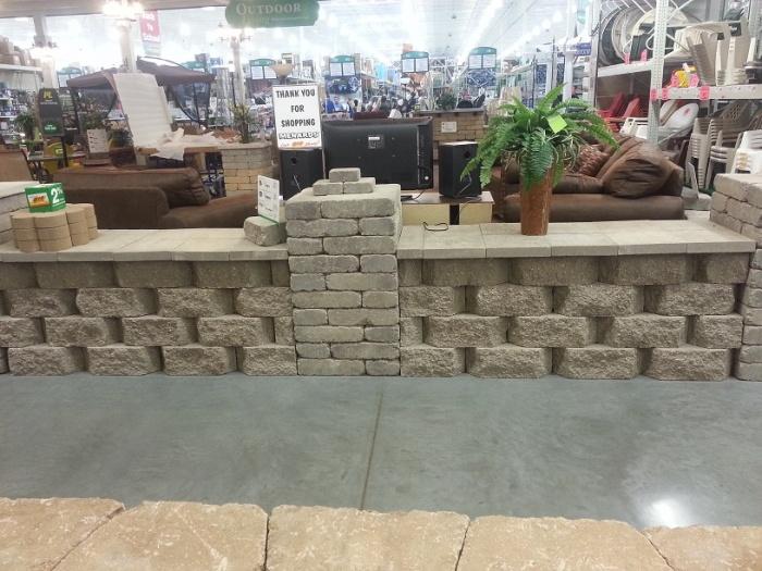 Patio border idea #2
