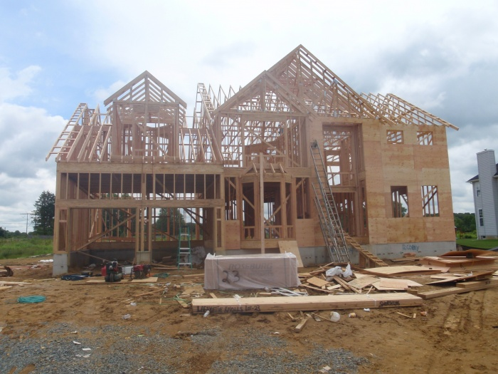 """A"" Side, New Home Construction"