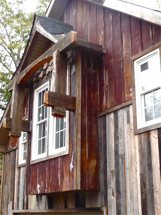 Rusty Tin and Barnwood Siding - by Historic Flooring