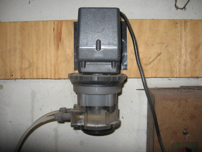 Stenner pump used for peroxide systems