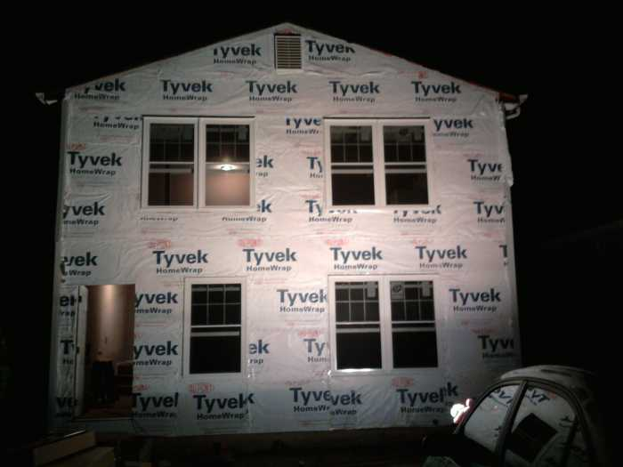 STEP 10 - Install housewrap