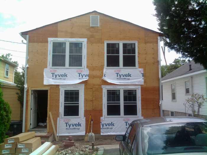 STEP 9 - Install new windows