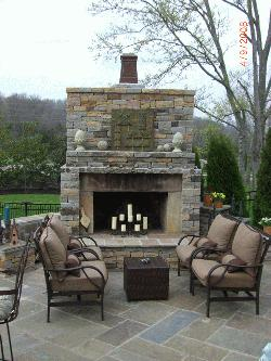 Stone outdoor, patio