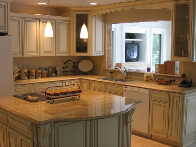 This is a kitchen remodel for a friend I grew up with.