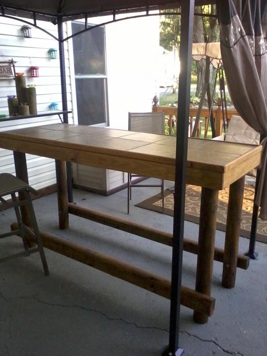 Tiki Bar Table
