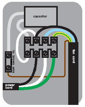 fan speed control wiring help electrical diy chatroom home i can t a schematic for the speed controller but it s relatively simple there are four wires coming out of the back two of them black and white