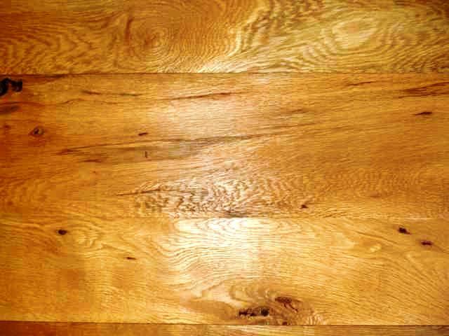 White Oak with Knots & Bird Pecks - by Historic Flooring